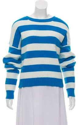 Diane von Furstenberg Striped Angora Sweater