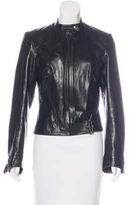 Christian Dior Embellished Leather Jacket