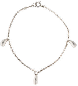 Tiffany & Co. Teardrop Charm Bracelet $145 thestylecure.com