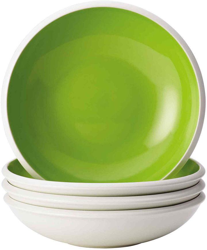 Rachael Ray Rise Set of 4 Soup/Pasta Bowls