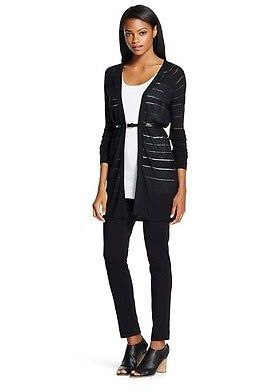 Women's Layering Cardigan Sweater Stripe - Mossimo $22.99 thestylecure.com