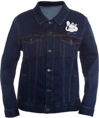 Peanuts Collection- Men Snoopy Graphic Trucker Jacket