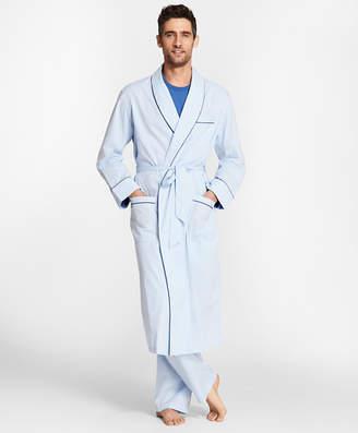 Brooks Brothers Pin-Dot Stripe Robe