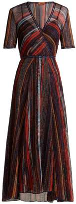 Missoni Striped metallic dress