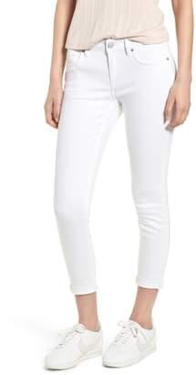 Vigoss Thompson Tomboy Distressed Cuffed Crop Skinny Jeans
