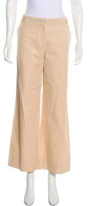 Salvatore Ferragamo Mid-Rise Wide-Leg Pants