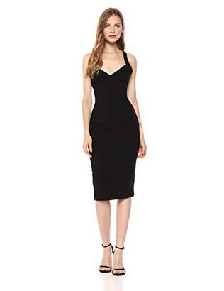 LIKELY Women's Alexia Fitted Backless Dress