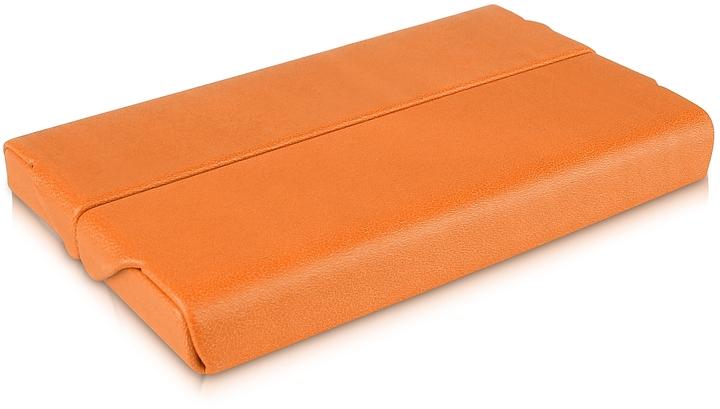 Giorgio fedon orange business card holder shopstylecom for Orange business card holder