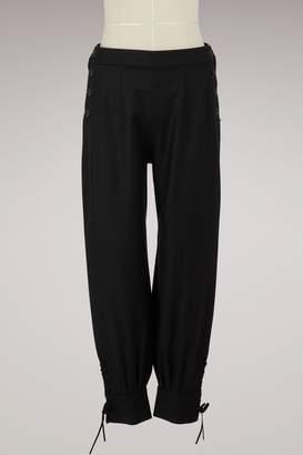 Sportmax Alfsonsa wool trousers