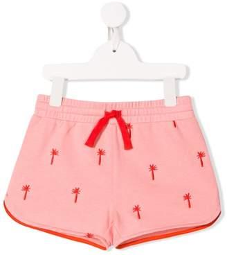 Stella McCartney palm tree embellished shorts