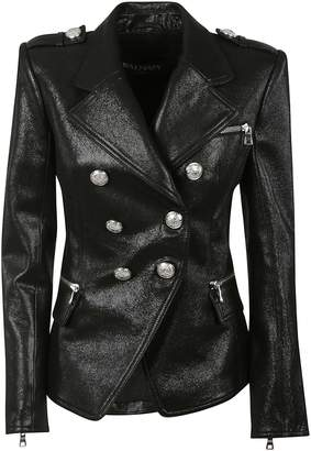 Balmain Double Breasted Biker Jacket