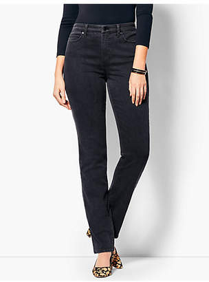 Talbots High-Rise Straight-Leg Jean - Curvy Fit/Galaxy Wash
