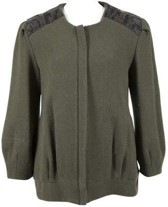 Loeffler Randall Green Wool Jacket for Women
