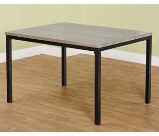 Generic LenyXX Collection Dining Table, Black/Gray