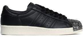 adidas Superstar 80s 3d Embellished Perforated Leather Sneakers