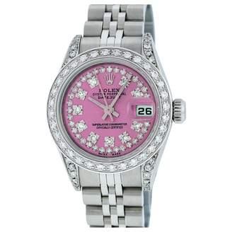 Rolex Vintage Lady DateJust 26mm Pink Steel Watches