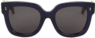 Chimi 008 Rectangle Almost Black Sunglasses
