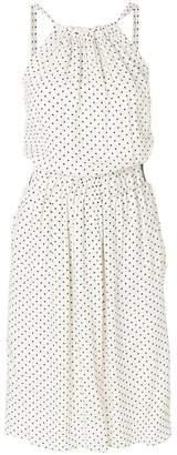 Twin-Set polka dot midi dress