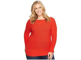 Lucky Brand Plus Size Off Shoulder Sweater Women's Sweater
