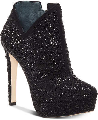 Jessica Simpson Rivera Studded Platform Booties Women's Shoes