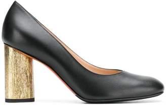 Baldinini contrast heel pumps
