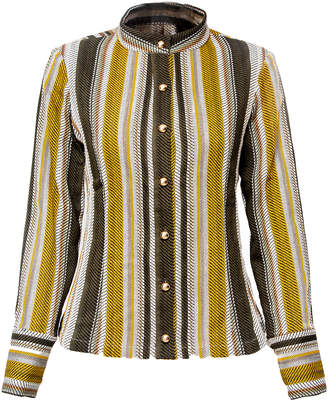 VHNY - Striped Military Blouse
