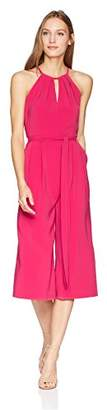 Vince Camuto Women's Solid Cropped Jumpsuit