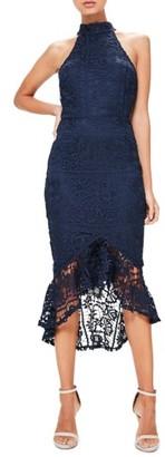 Women's Missguided Lace Midi Dress $113 thestylecure.com