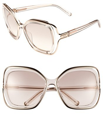 Chloé 56mm Sunglasses