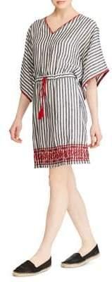 Lauren Ralph Lauren Striped Linen Dress