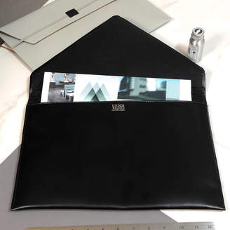 Undercover Leather Clutch Bag