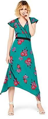 find. Standard Women's Midi Floral Wrap Dress