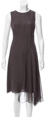Morgane Le Fay Sleeveless Silk Dress