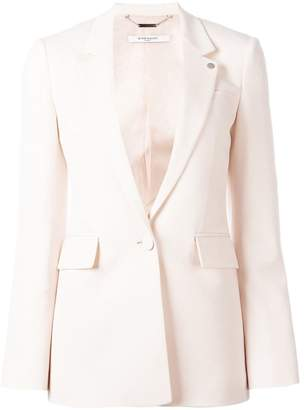 Givenchy notched lapel blazer