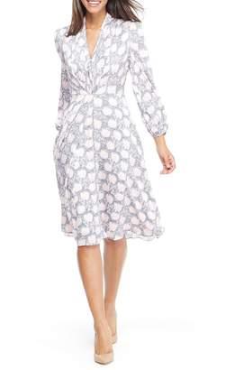 Gal Meets Glam Lizzie Floral Dress