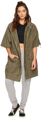 Free People Reworked Army Jacket Women's Coat