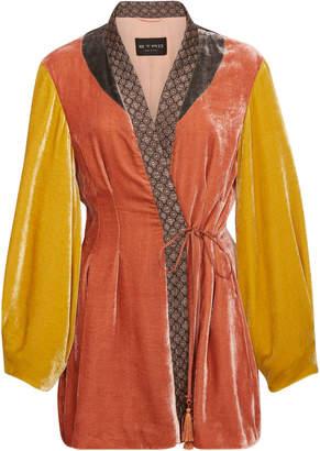Etro Penrose Embroidered Velvet Jacket
