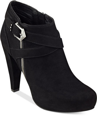 G by GUESS Taylin Platform Dress Booties $79 thestylecure.com