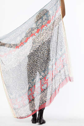 Zadig & Voltaire Kerry Multi Print scarf