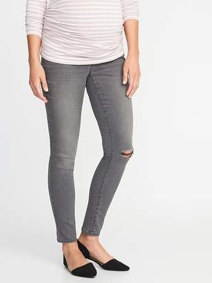 Old Navy Maternity Side-Panel Rockstar Super Skinny Jeans