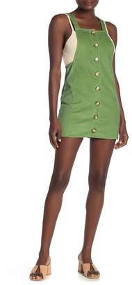 Luna Chix LUNACHIX Corduroy Button Front Mini Dress