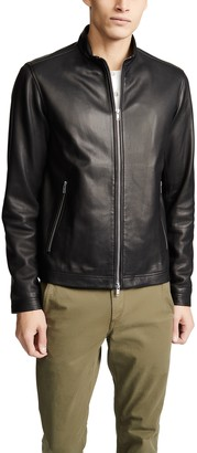 Theory Morvek Lkelleher Leather Jacket