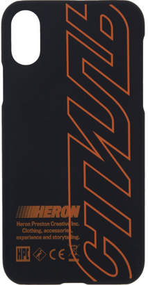 Heron Preston Black Style iPhone X Case