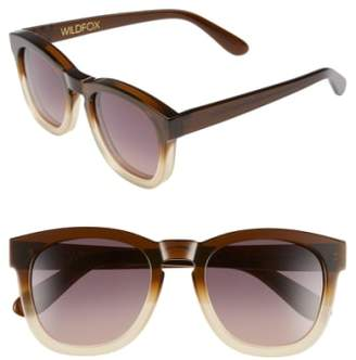 Wildfox Couture 'Classic Fox' 50mm Retro Sunglasses