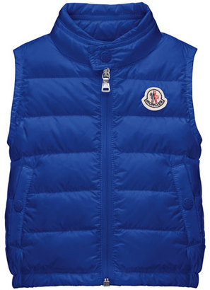 Moncler New Amaury Puffer Vest, Infant/Toddler $195 thestylecure.com