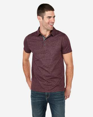 Express Signature London Marled Jersey Polo