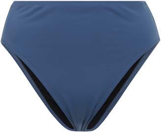 Solid & Striped The Marissa Slate Mid-Rise Bikini Briefs
