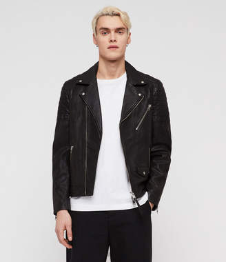AllSaints Leo Leather Biker Jacket