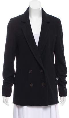 Tory Burch Wool Notch-Lapel Coat