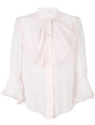 Chloé ruffle yoke blouse